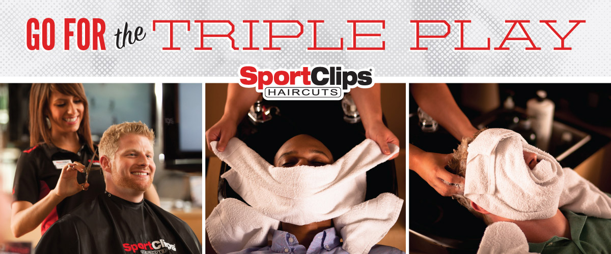 The Sport Clips Haircuts of Parma  Triple Play